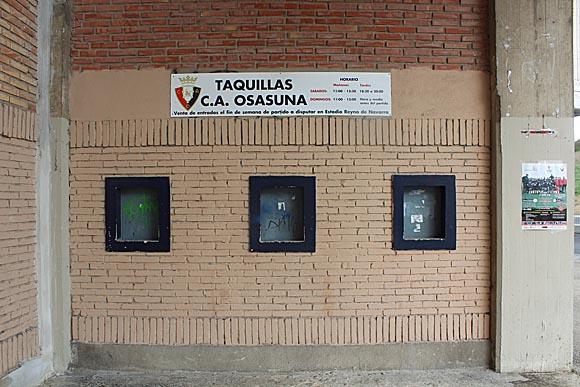Reyno ticket window
