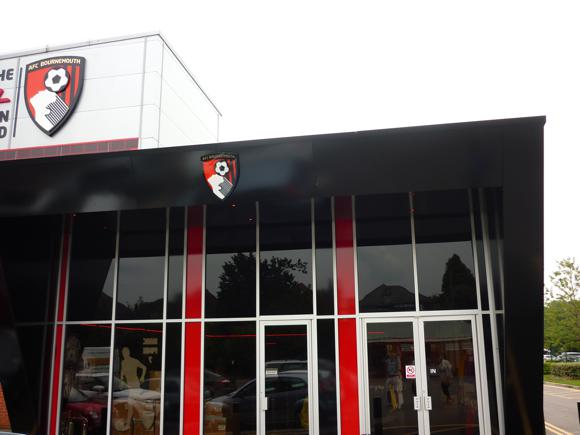 club shop outside
