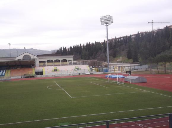 How Long Is A Football Pitch >> San Marino Stadium