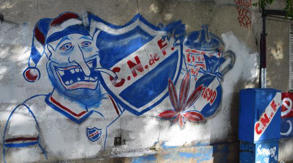Nacional 1-graffiti by stadium