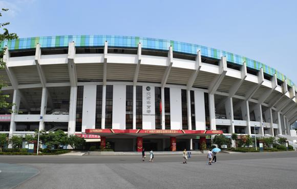 13 Tianhe stadium by day